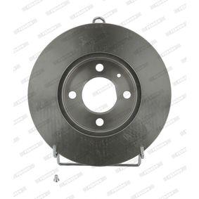 Bremsscheibe Bremsscheibendicke: 20mm, Lochanzahl: 4, Ø: 256mm mit OEM-Nummer 6N0615301D