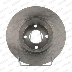 Bremsscheibe Bremsscheibendicke: 13mm, Lochanzahl: 4, Ø: 280mm mit OEM-Nummer 8A0.615.301D