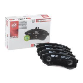 Bremsbelagsatz, Scheibenbremse Höhe 1: 44mm, Dicke/Stärke: 15,5mm mit OEM-Nummer 0449260020