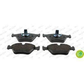 Bremsbelagsatz, Scheibenbremse Höhe 1: 64mm, Dicke/Stärke: 19,5mm mit OEM-Nummer 3411 1 163 387