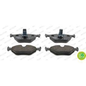 Bremsbelagsatz, Scheibenbremse Höhe 1: 45mm, Dicke/Stärke: 16,4mm mit OEM-Nummer 3421 1163 395