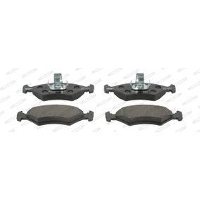 Bremsbelagsatz, Scheibenbremse Höhe 1: 47mm, Dicke/Stärke: 18mm mit OEM-Nummer 1010 503