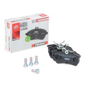 Bremsbelagsatz, Scheibenbremse Höhe 1: 43mm, Dicke/Stärke: 14,7mm mit OEM-Nummer 98AX2M008BA