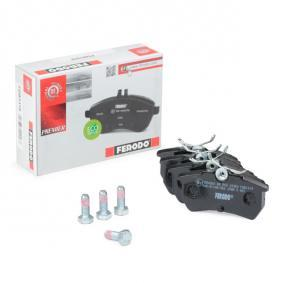 Brake Pad Set, disc brake Height 1: 43mm, Thickness: 14,7mm with OEM Number 1 107 698