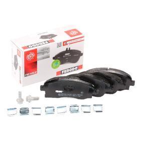 Bremsbelagsatz, Scheibenbremse Höhe 1: 51mm, Dicke/Stärke: 17mm mit OEM-Nummer 1605316