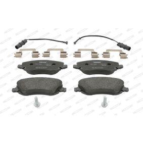 Bremsbelagsatz, Scheibenbremse Höhe 1: 60mm, Dicke/Stärke: 18,3mm mit OEM-Nummer 77 362 272