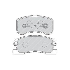 Bremsbelagsatz, Scheibenbremse Art. Nr. FDB1501 120,00€