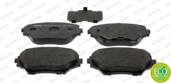 Brake Pads FDB1514 FERODO 23586 original quality