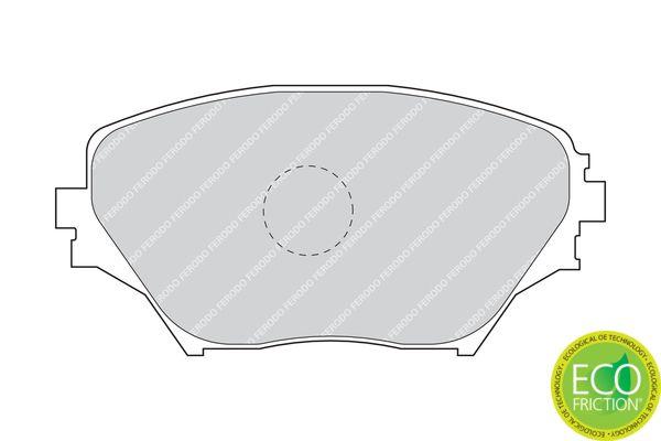 Disk brake pads FERODO 23585 rating