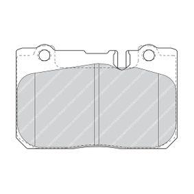 FERODO PREMIER FDB1554 Bremsbelagsatz, Scheibenbremse Höhe 1: 74,5mm, Dicke/Stärke: 16,9mm