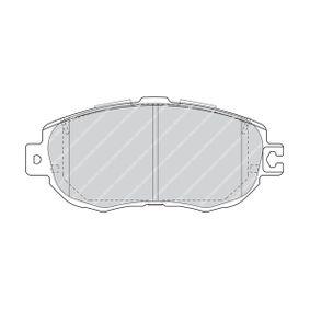 Bremsbelagsatz, Scheibenbremse Höhe 1: 63,8mm, Dicke/Stärke: 17,6mm mit OEM-Nummer 04465 50 110