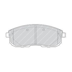 Bremsbelagsatz, Scheibenbremse Art. Nr. FDB1559 120,00€