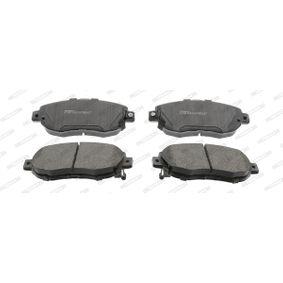 Bremsbelagsatz, Scheibenbremse Höhe 1: 63,8mm, Dicke/Stärke: 17,4mm mit OEM-Nummer 04465-14081