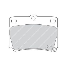 Bremsbelagsatz, Scheibenbremse Art. Nr. FDB1570 120,00€