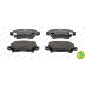 Bremsbelagsatz, Scheibenbremse Höhe 1: 38mm, Dicke/Stärke: 16,2mm mit OEM-Nummer 04466 02 020