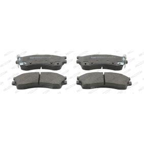 Bremsbelagsatz, Scheibenbremse Art. Nr. FDB1602 120,00€