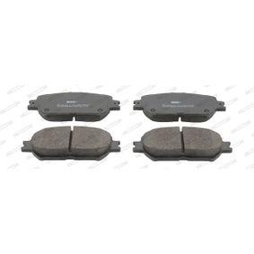 Bremsbelagsatz, Scheibenbremse Höhe 1: 59mm, Dicke/Stärke: 17mm mit OEM-Nummer 04465-33240