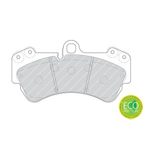 Brake Pad Set, disc brake Height 1: 99mm, Thickness: 16,8mm with OEM Number 7L6 698 151F