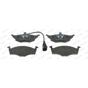 Bremsbelagsatz, Scheibenbremse Höhe 1: 48,1mm, Höhe 2: 50,3mm, Dicke/Stärke: 14,5mm mit OEM-Nummer 8Z0698151