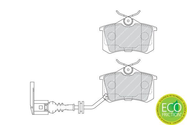 Bremsbelagsatz FERODO 20961 Bewertung