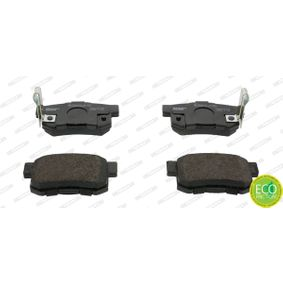 Brake Pad Set, disc brake Height 1: 48mm, Thickness: 15,2mm with OEM Number 43022- S9A-E52