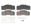 OEM Brake Pad Set, disc brake DB 2912582 from DANBLOCK