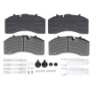 OEM Brake Pad Set, disc brake DB 2915882 from DANBLOCK