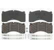 OEM Bremsbelagsatz, Scheibenbremse DB 2912482 von DANBLOCK