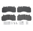 OEM Brake Pad Set, disc brake DB 2918182 from DANBLOCK