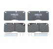 OEM Brake Pad Set, disc brake DB 2906782 from DANBLOCK
