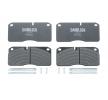 OEM Brake Pad Set, disc brake DB 2906782 from DANBLOCK