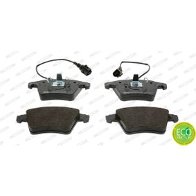 Brake Pad Set, disc brake Height 1: 73mm, Height 2: 75mm, Thickness 1: 18,5mm, Thickness: 19,6mm with OEM Number 7L6698151F