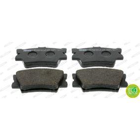 Bremsbelagsatz, Scheibenbremse Höhe 1: 49,5mm, Dicke/Stärke: 15,5mm mit OEM-Nummer 0446606200