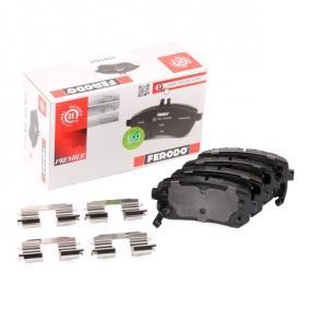 2012 Kia Ceed SW ED 1.6 CRDi 115 Brake Pad Set, disc brake FDB1956