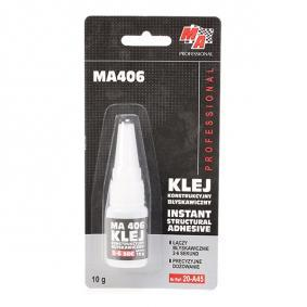 All purpose adhesives MA PROFESSIONAL 20-A45 for car (Tube, Weight: 10g, Colourless)