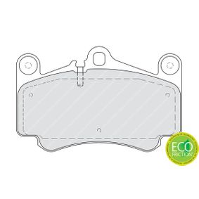 Bremsbelagsatz, Scheibenbremse Höhe 1: 89mm, Dicke/Stärke: 16,5mm mit OEM-Nummer 99635194912