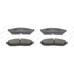 Bremsbelagsatz, Scheibenbremse Art. Nr. FDB208 120,00€