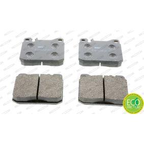 Bremsbelagsatz, Scheibenbremse Höhe 1: 74mm, Dicke/Stärke: 17,5mm mit OEM-Nummer 001 420 05 20.