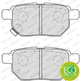 Brake Pad Set, disc brake Article № FDB4042 £ 140,00