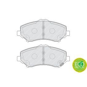 FERODO PREMIER ECO FRICTION FDB4074 Bremsbelagsatz, Scheibenbremse Höhe 1: 64mm, Dicke/Stärke: 17,3mm