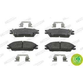 Bremsbelagsatz, Scheibenbremse Höhe 1: 49mm, Dicke/Stärke 1: 15,5mm, Dicke/Stärke: 15,9mm mit OEM-Nummer 5810125A00