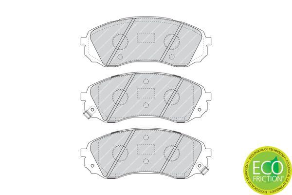 Bremsbelagsatz FERODO 24609 Bewertung