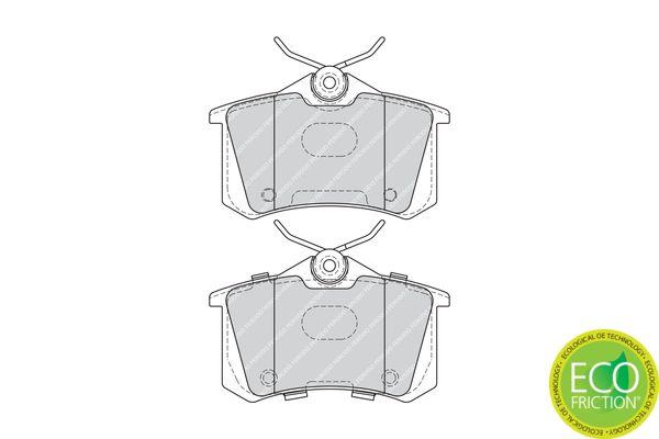 Bremsbelagsatz FERODO FDB4178 Bewertung