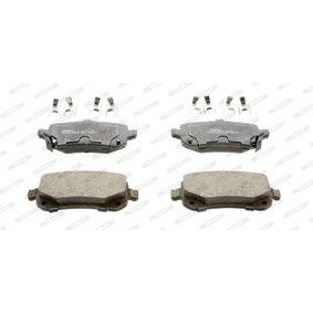 Bremsbelagsatz, Scheibenbremse Höhe 1: 52,7mm, Dicke/Stärke: 16,8mm mit OEM-Nummer 68029-887AA