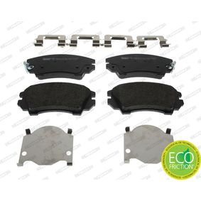 Brake Pad Set, disc brake Height 1: 66mm, Thickness: 18,9mm with OEM Number 1605434