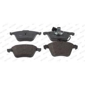 Bremsbelagsatz, Scheibenbremse Höhe 1: 73mm, Dicke/Stärke: 20,1mm mit OEM-Nummer 8J0 698 151 A
