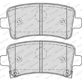 Brake Pad Set, disc brake Height 1: 47mm, Thickness: 17,2mm with OEM Number 1605319