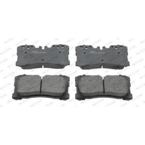 Bremsbelagsatz, Scheibenbremse Höhe 1: 88mm, Dicke/Stärke: 18,3mm mit OEM-Nummer 04465-0W110