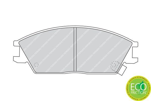 Bremsbelagsatz FERODO FDB435 Bewertung