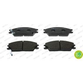 Bremsbelagsatz, Scheibenbremse Höhe 1: 50mm, Dicke/Stärke: 14,8mm mit OEM-Nummer 5810124A00